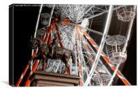 big wheel , Canvas Print