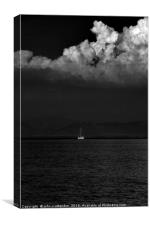 sailing , Canvas Print