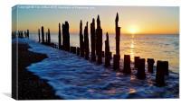Beach Sunrise, Canvas Print