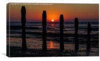 Winchelsea Sunrise, Canvas Print
