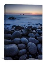 Porth Nanven Twilight, Canvas Print