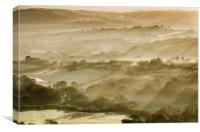 Dorset Sunrise, Canvas Print
