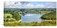 Wimbleball Lake, Canvas Print