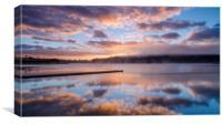 Exmoor Sunrise at Wimbleball, Canvas Print