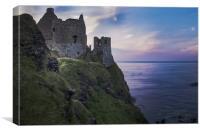 Dunluce Castle Ruins, Causeway Coast, Northern Ire, Canvas Print