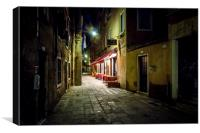 A Welcome Sight, Canvas Print