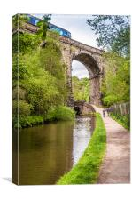 Under the Viaduct, Canvas Print