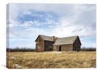 A Prairie Home, Canvas Print