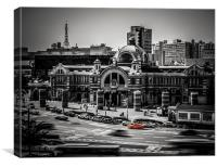 Old Seoul Station, Canvas Print