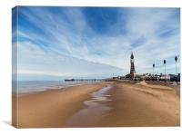 Blackpool Tower, Canvas Print