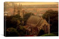 St Mary's Church, Chatham, Canvas Print