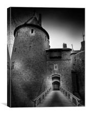 Castell Coch, Canvas Print