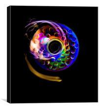 DVD art, Canvas Print
