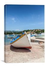 Fishing boat , Canvas Print