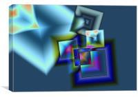 squares 1, Canvas Print