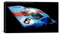 Ford GT40, Canvas Print