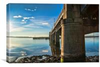 Kincardine Bridge passages, Canvas Print