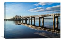 Kincardine Bridge Spans, Canvas Print