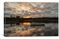 Sunrise Drift, Canvas Print