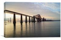 Bridge view, Canvas Print