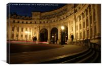 Admiralty Arch the Mall, Canvas Print