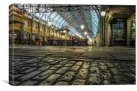 Covent garden street level, Canvas Print
