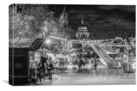 xmas markets, Canvas Print