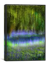 Ethereal Bluebells, Canvas Print
