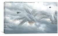 Yeovilton Airshow Commando Assault 2015 (4), Canvas Print