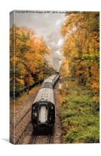 Autumn Steam, Canvas Print