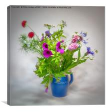 Wild Flowers, Canvas Print