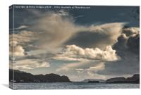 Clouds Over Oban, Canvas Print