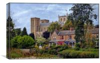 """Ripon Cathedral"", Canvas Print"
