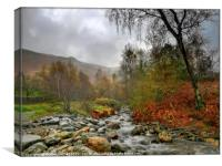 """""""Misty morning in the Lake District"""", Canvas Print"""