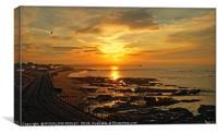 """Steetley Sunset"", Canvas Print"