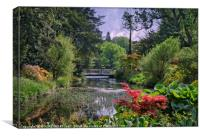 """Lush Spring foliage at Thorp Perrow"", Canvas Print"