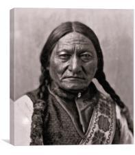 Sitting Bull, Canvas Print