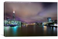 Old Father Thames, Canvas Print