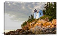 Bass Harbor Head Light, Canvas Print