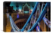 Tower Bridge Detail, Canvas Print