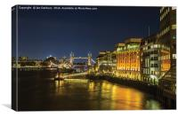 London Bridge Hospital, Canvas Print