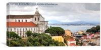 Lisbon Old Town, Canvas Print