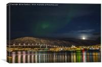Aurora Borealis in Tromso, Canvas Print