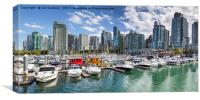 Vancouver Skyline, Canvas Print