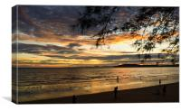 Aonang beach, Canvas Print