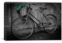 Basket Greens, Canvas Print
