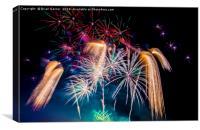 Fireworks!, Canvas Print