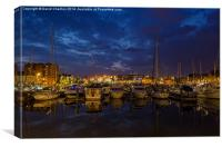 Hull Marina, Canvas Print