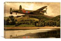 Avro Lancaster (Thumper PA474), Canvas Print