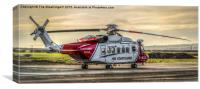 Sikorsky S92s SAR Helicopter, Canvas Print